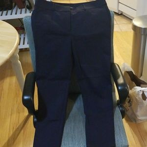LOFT Marisa 10 navy trousers pants